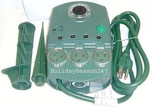 holiday light effect light show controller blinker lightshow w timer. Black Bedroom Furniture Sets. Home Design Ideas