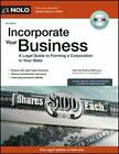 Incorporate Your Business : A Legal Guide to Forming a Corporation in Your State by Anthony Mancuso (2011, Paperback, Revised, New Edition)