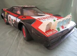 dv3333 sige lancia stratos rallye noire wrc radiocommande 1 8 ref a 100 boite ebay. Black Bedroom Furniture Sets. Home Design Ideas