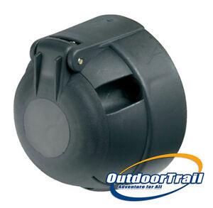 Car-Towbar-Replacement-7Pin-Black-Plastic-12n-Socket