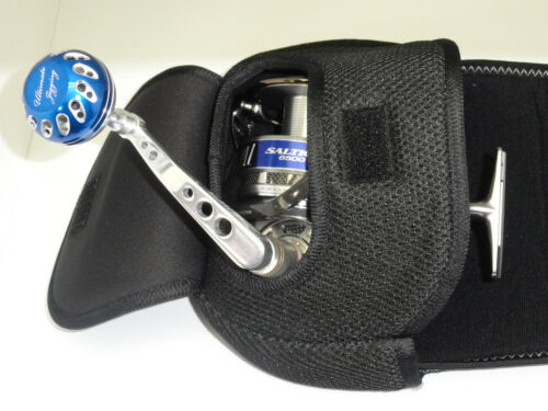 4 JAWS SPINNING Pouch size S M L XL FOR Accurate SR 6 12 20 30 Van Staal reel