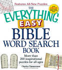 The Everything Easy Bible Word Search Book: More Than 200 Inspirational Puzzles for All Ages by Charles Timmerman (Paperback, 2012)