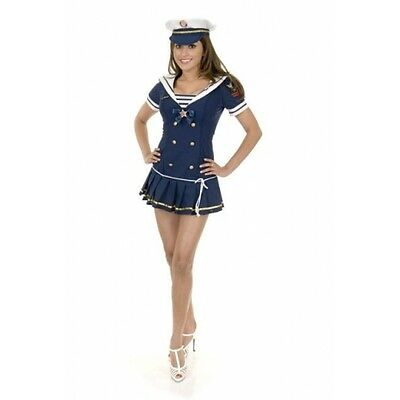 navy SAILOR first mate sexy womens adult costume S
