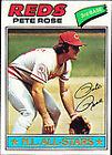 1977 Topps Pete Rose Cincinnati Reds #450 Baseball Card