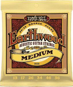 3-Pack-Ernie-Ball-Earthwood-2002-Medium-Acoustic-Guitar-Strings-Bronze-Alloy