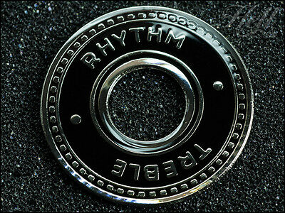 """""""CHEQUER"""" Rhythm Treble Switch Washer Ring. Most Gibson, Epiphone Les Paul, SG"""
