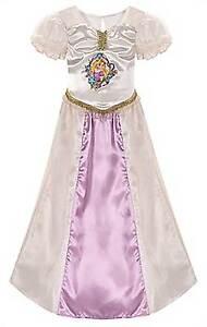 Disney Rapunzel Tangled Ever After Wedding Nightgown Pajamas Size 10
