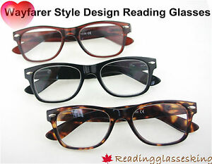 Choose-EGO-Classic-Style-Design-Reading-Glasses-RETRO-STYLE-NERD-Geek-Thick-All