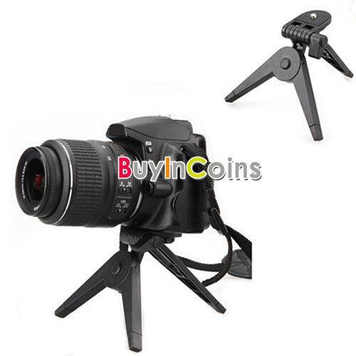 Portable Table Plastic Foldable Folding Tripod Stand Camera DV Camcorder SACA