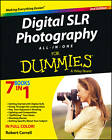 Digital SLR Photography All-in-One For Dummies by Robert Correll (Paperback, 2013)