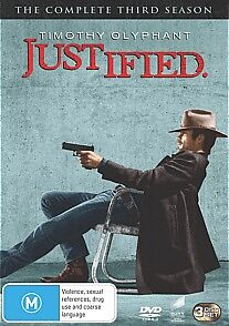 Justified-Season-3-DVD-2013-3-Disc-Set-BRAND-NEW-SEALED