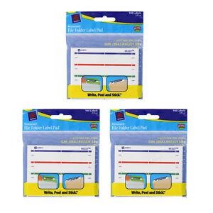 Avery Dennison Ave-45215 File Folder Label Pad - 4/sheet Permanent 160