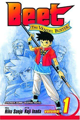 Beet the Vandel Buster manga vol. 1