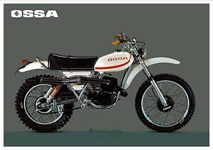 OSSA-Poster-Super-Pioneer-350-VMX-Enduro-1975-1976-1977-1978-Suitable-to-Frame
