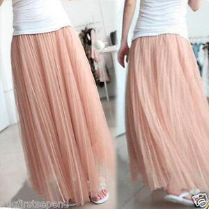 Women'S Long Dress Skirts