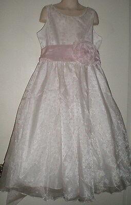 Sophia Young Designs Limited GIRLS FORMAL DRESS 10 Flowergirl WEDDING Pink DOT