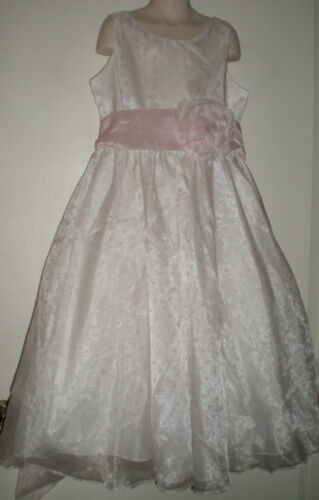 Sophia Young Designs Limited GIRLS FORMAL DRESS 10 Flowergirl WEDDING Pink DOT