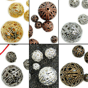 4mm-6mm-8mm-10mm-12mm-Silver-Gold-Copper-Bronze-Filigree-Spacer-Beads