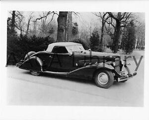 1936-Duesenberg-SJ-Bohman-amp-Schwartz-Conv-Coupe-Factory-Photo-Ref-39603