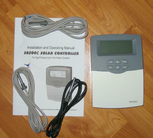 SR208C  Solar Water Heater Controller  -- AKA Differential Controller