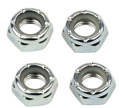 GRIND KING SKATEBOARD AXLE WHEEL NUT REPLACEMENT SET BRAND NEW