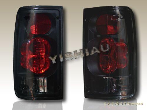 1989-1995 Toyota Pickup Truck Tail Lights Dark Smoke 90 91 92 93 94