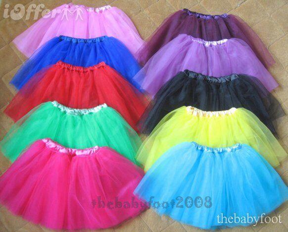 Women/Big girl's 3 Layers Petti Tutu ballet/ hen party fairy Skirt dressing up