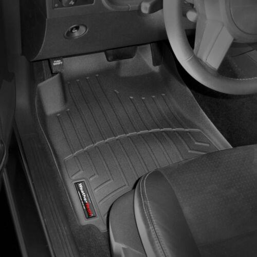 WeatherTech Floor Mats FloorLiner - Dodge Challenger - 2008-2010 - Black