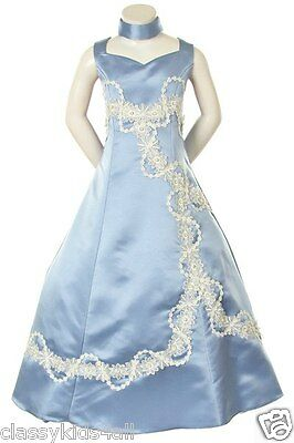 Graduation Pageant Flower Girl Party Wedding Formal dress size 6 8 10 12 14 16