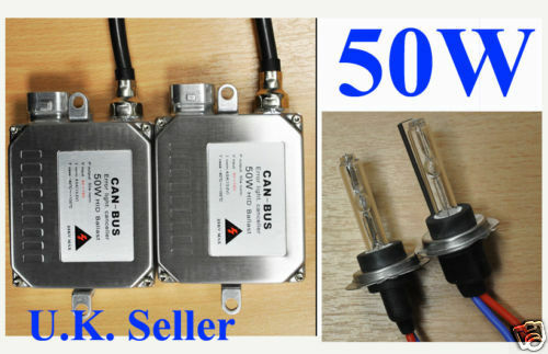 UK SELLER H7 CANBUS XENON AC 50W//55W HID ERROR FREE CONVERSION KIT