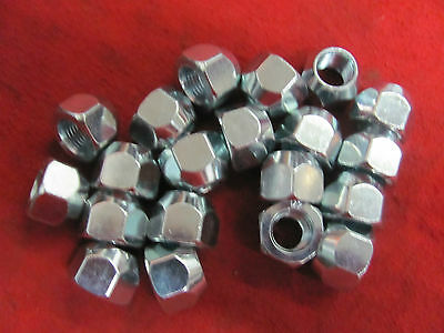 "1932-72 Ford NEW set of 20 lug nuts flathead scta 1/2""x20  1/2-20 1/2""      EE6"