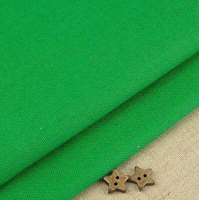 Robert Kaufman Essex Christmas tree green linen cotton blend fabric/ holly quilt