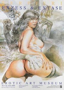 Serpieri-Ausstellungsplakat-HH-1995