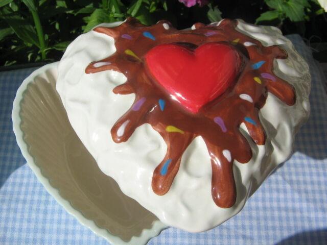 Zuckersüß !!! Muffins Cupcake Dose Mint Gelb Herzform Herz Rot Rosa Schoko Liebe