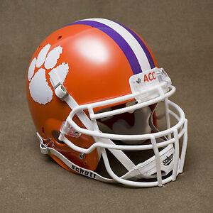 CLEMSON TIGERS Authentic GAMEDAY Football Helmet | eBay