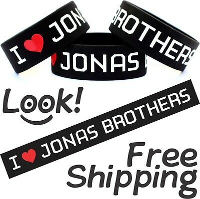I HEART JONAS BROTHERS Bracelet Item To Show Love For Your Favorite Music Band