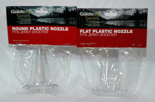 Gander Mountain Guide Series Flat /& Round Nozzel for Jerky Shooter