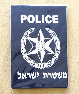 Israel Police Logo T-Shirt Sheriff Security Staff Defence Force S,M,L,XL,XXL,2XL