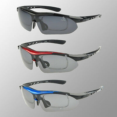New Professiona Polarized Cycling Glasses Bike Sports Sunglasses 5 Lens 4 Color