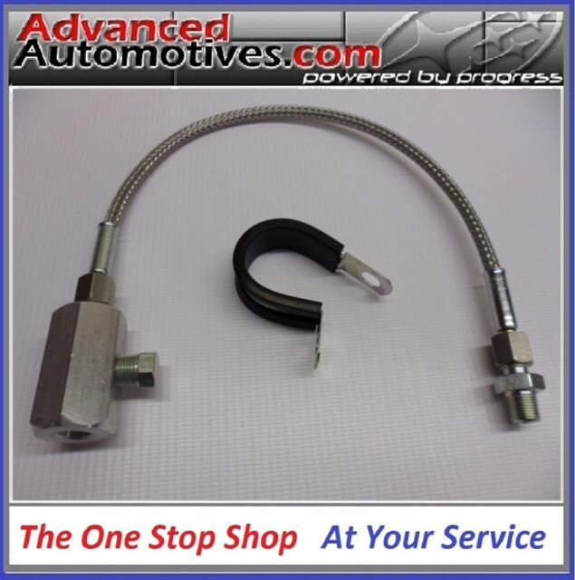 Subaru Remote Gauge Oil Pressure Switch Adaptor Impreza STi WRX Forester Legacy