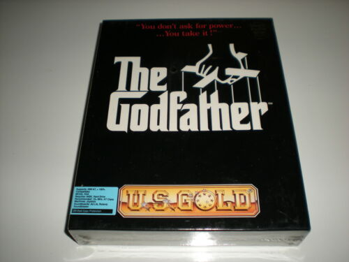 """The Godfather for Dos on 5.25/"""" High Density disks New retail box."""