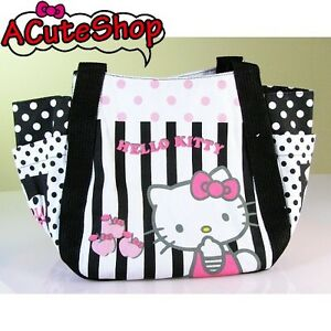 Hello-Kitty-Cotton-Tote-Bag-Handy-Bag-Apple-Polka-Dot-Sanrio