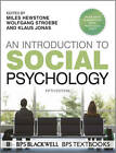 An Introduction to Social Psychology by Miles Hewstone, Klaus Jonas, Wolfgang Stroebe (Paperback, 2012)
