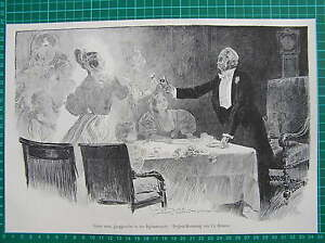 Antique-print-a-bachelors-vision-on-New-Year-039-s-Eve-holzstich-Ch-Gibson-1898