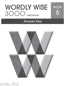 Wordly wise 3000 book 8 lesson 5 answer key