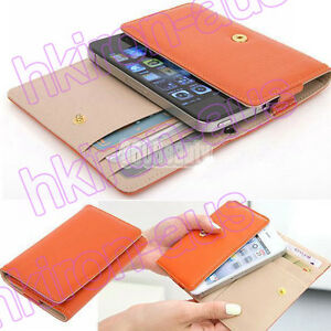 PU-Leather-Deluxe-Wallet-Purse-Case-Cover-Pouch-Protector-for-Apple-iPhone-4-4S