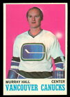 1970-1971 O-PEE-CHEE Murray Hall #118 Hockey Card