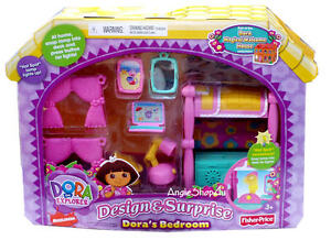Dora magical welcome design surprises dollhouse furniture for Dora the explorer bedroom ideas