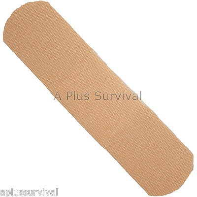 "1 Box 100 Strip Adhesive Band Bandages 1"" X 3"" First Aid OSHA Survival Kits"