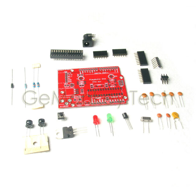 DIY Barebones Circuit Kit for Arduino Compatible